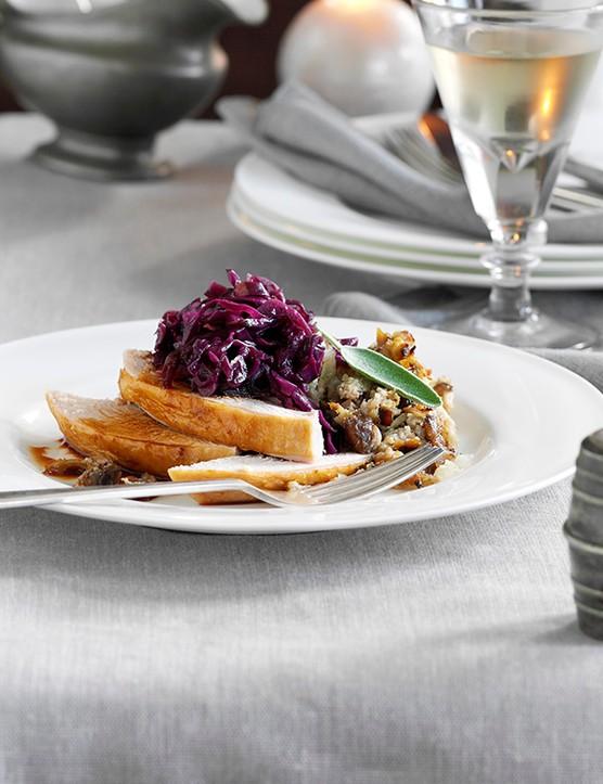 Roast Turkey Recipe with Chestnut Stuffing