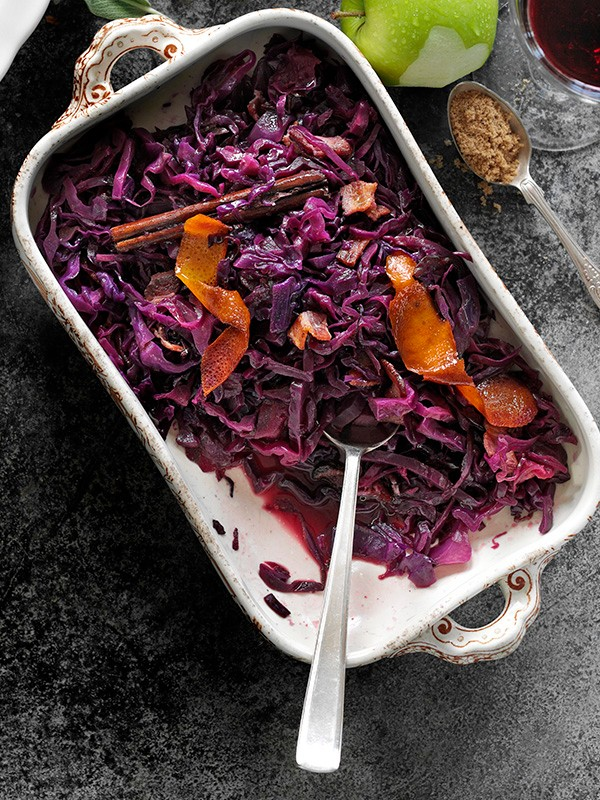 Braised Red Cabbage Recipe With Apples