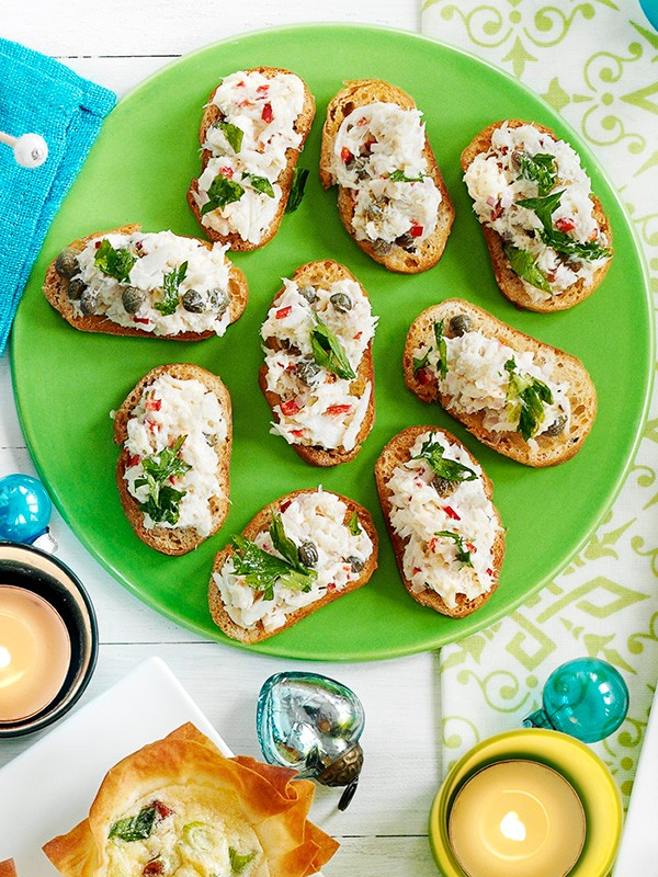 Crab Crostini Recipe