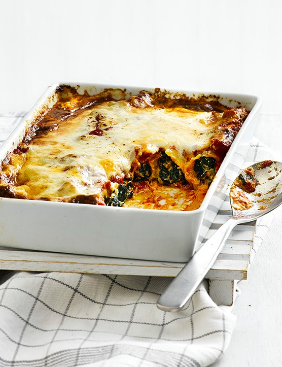 Winter Greens and Ricotta Cannelloni Recipe