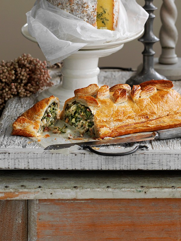 Vegetarian Beef Wellington Recipe With Stilton