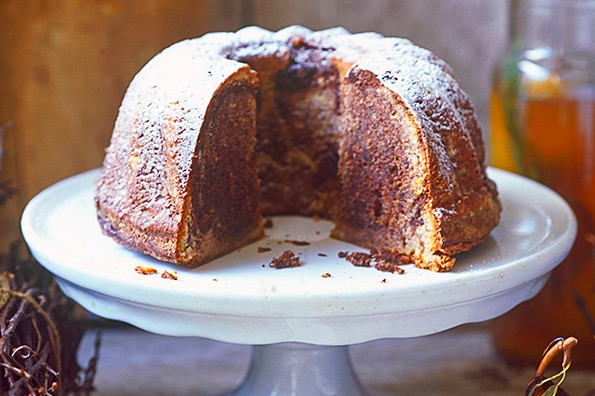 Kugelhupf Cake Recipe with Chocolate, Hazelnut and Cinnamon