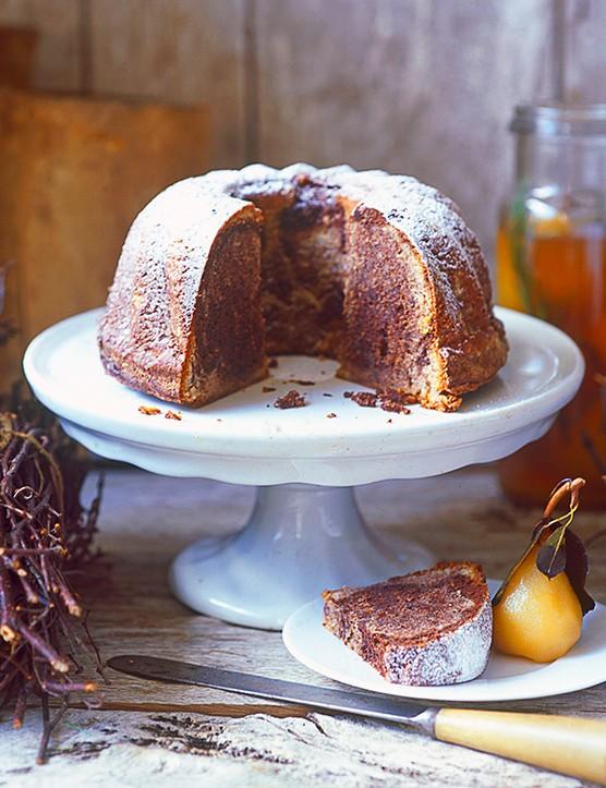 Kugelhupf Cake Recipe with Chocolate, Hazelnut and Cinnamon
