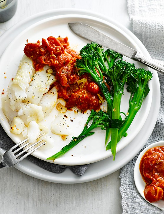 Grilled Cod with Salsa Recipe