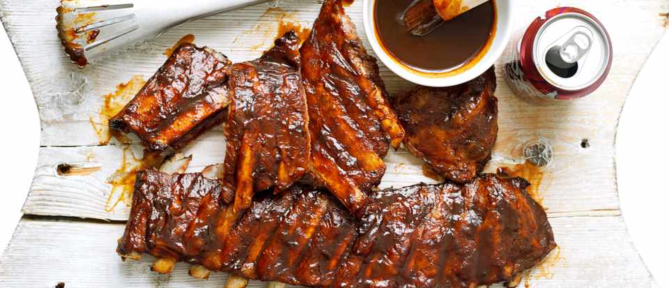 Dr Pepper ribs
