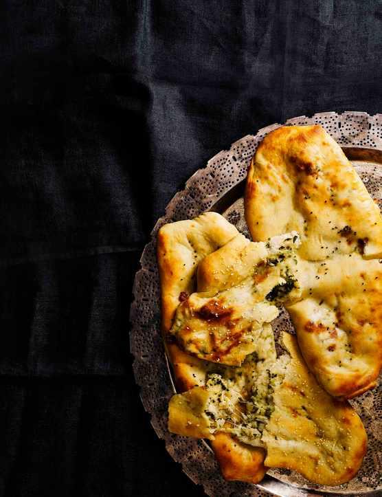 Cheese Naan Bread Recipe