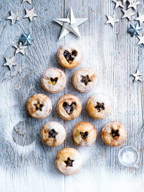 Mince Pie Recipe with Shortbread Pastry