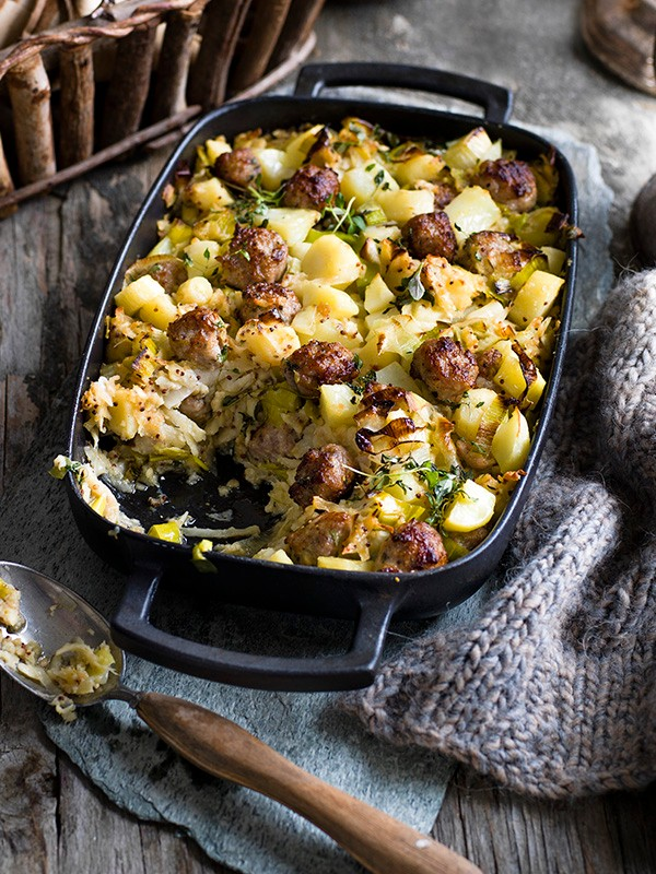 Bubble and squeak stuffing