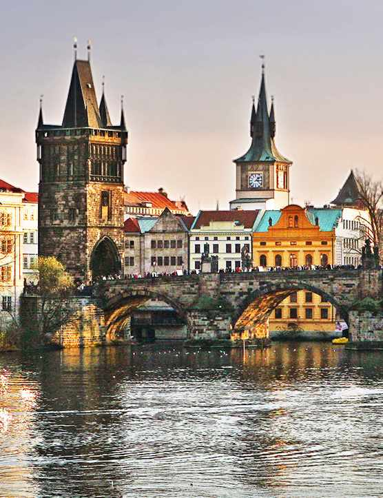 River view of Prague