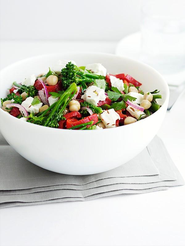 Chickpea Salad Bowl Recipe