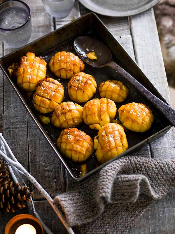 Pull-Apart Oven Roasted Potatoes Recipe