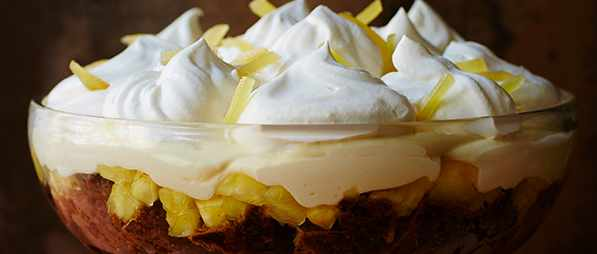 Ginger Trifle Recipe