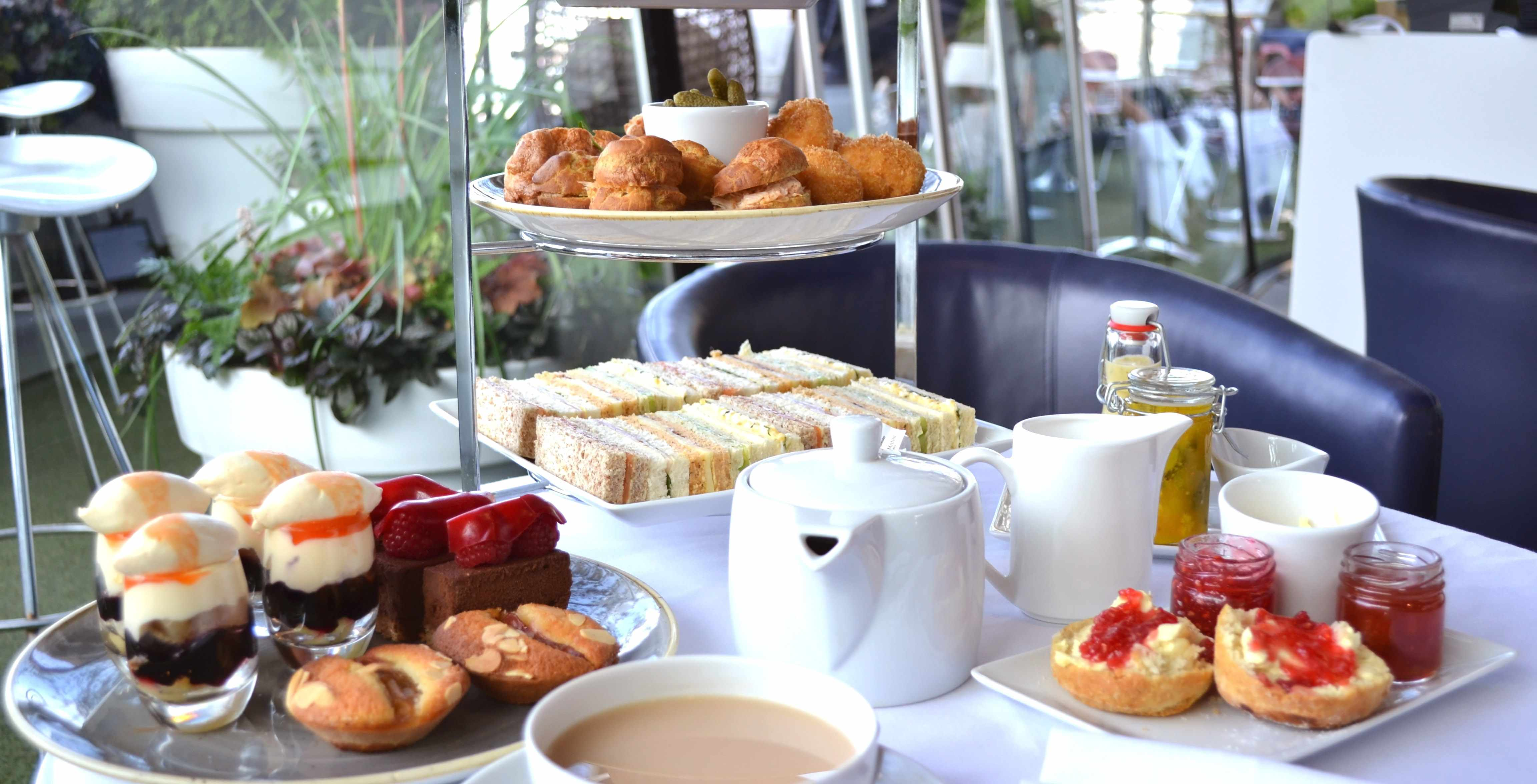 OXO Tower, London SE1: Afternoon Tea Review