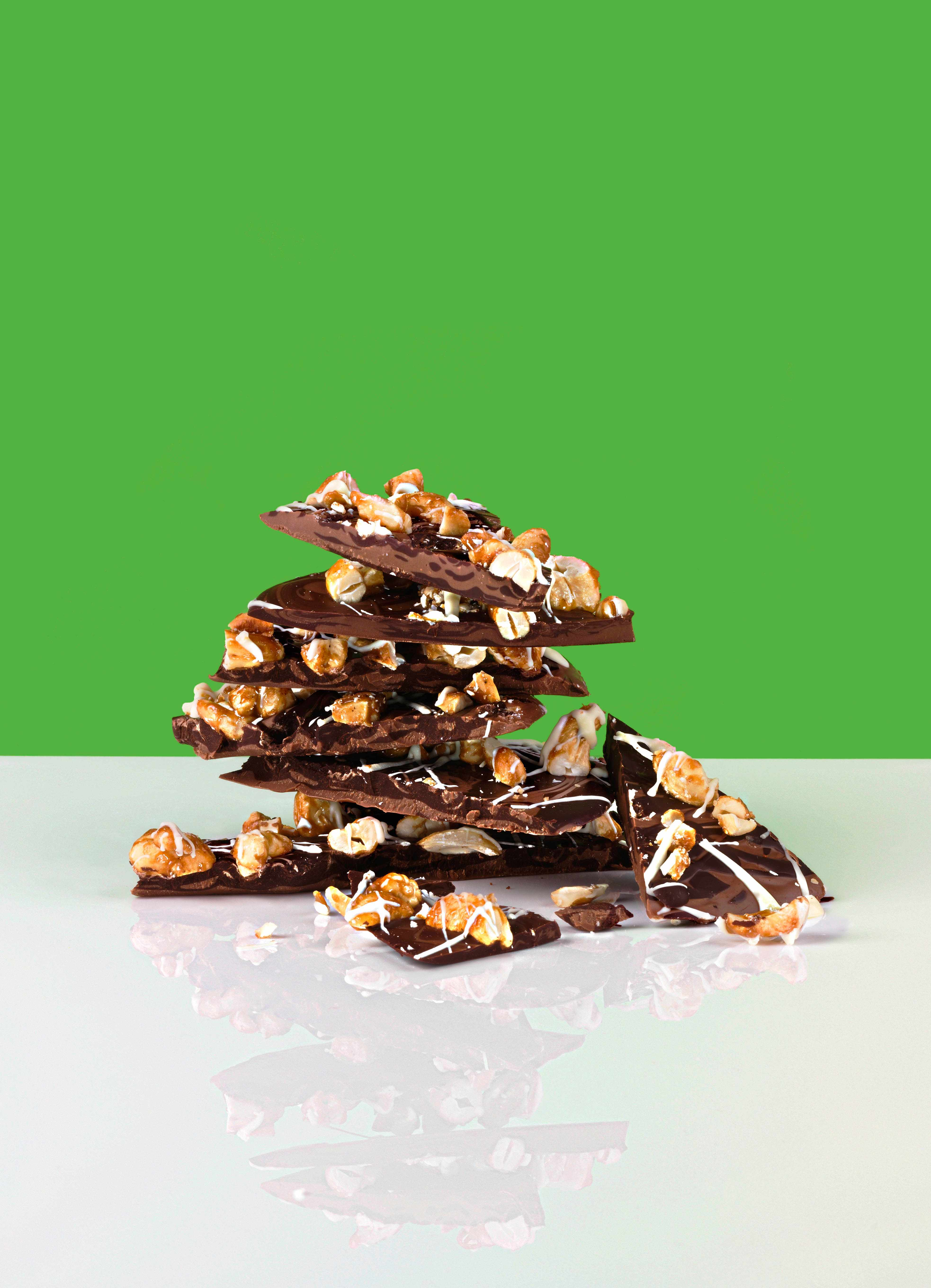 Chocolate Bark Recipe with Cashews