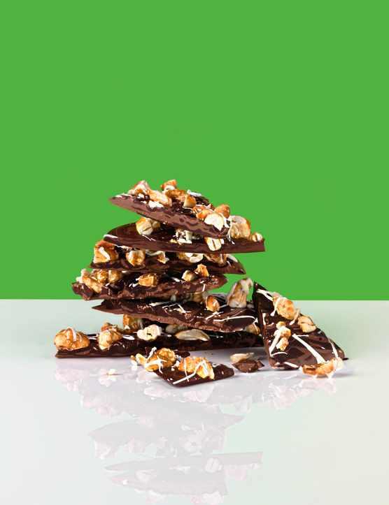 Chocolate Bark Recipe with Cashews