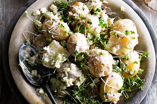 Potato Salad Recipe With Celery and Mustard
