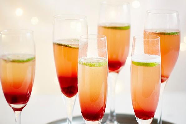 Champagne Grenadine Cocktail Recipe
