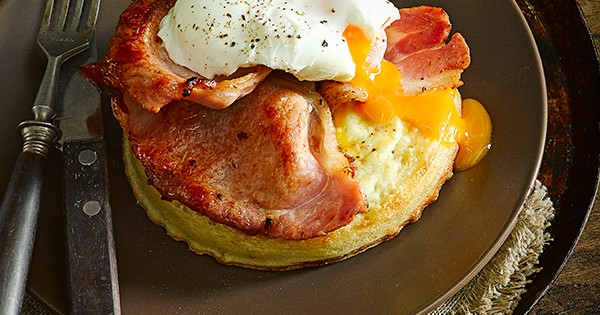 Bacon And Egg Easy Crumpet Recipe Olivemagazine