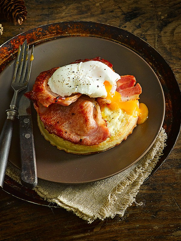 Bacon and Egg Easy Crumpet Recipe
