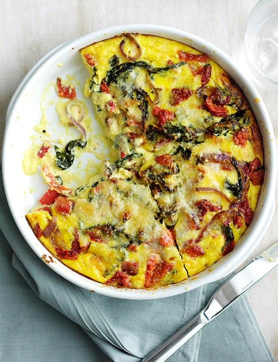 Oven Baked Frittata Recipe