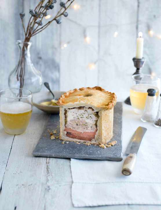 Turkey And Ham Pie Recipe