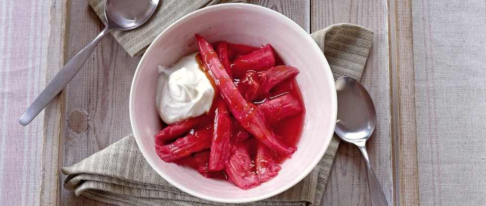 Breakfast rhubarb