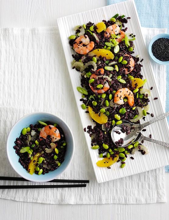 Black Rice Salad Recipe