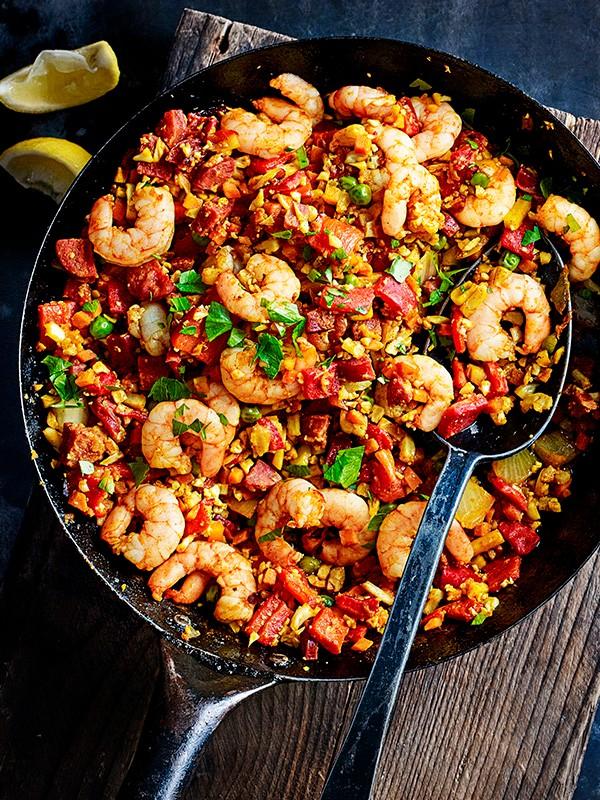Spanish Cauliflower Rice Recipe