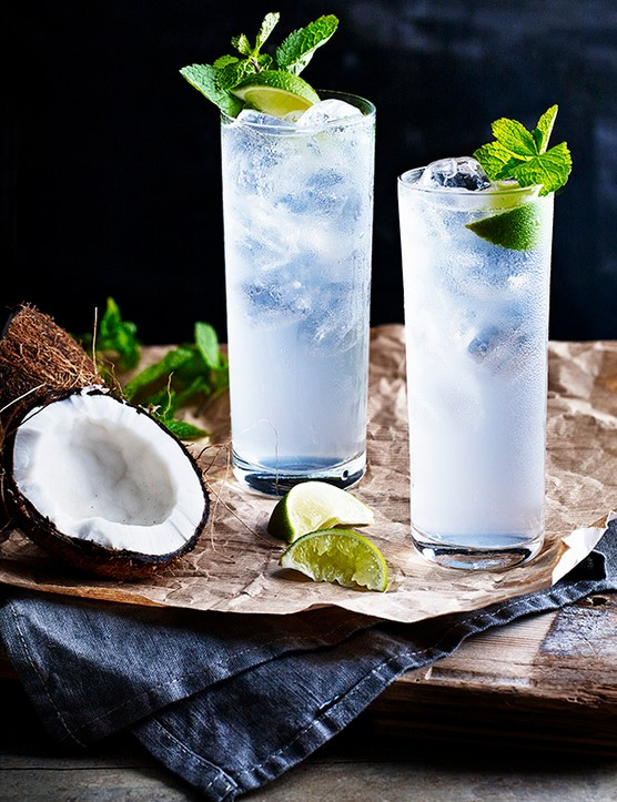 White Rum Cocktail Recipe with Coconut