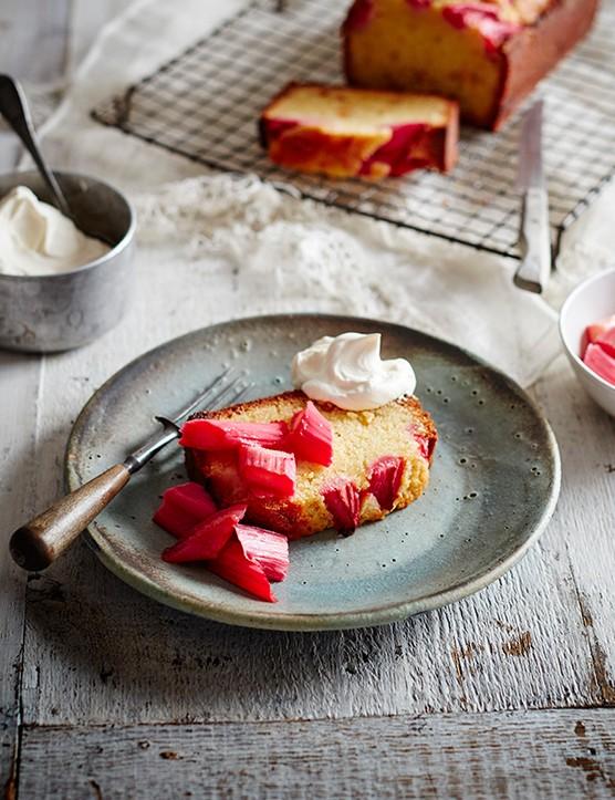 Rhubarb Loaf Cake Recipe
