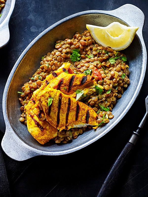 Spiced Chicken and Lentils Recipe