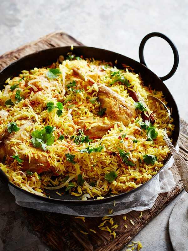 Guinea Fowl Biryani Recipe