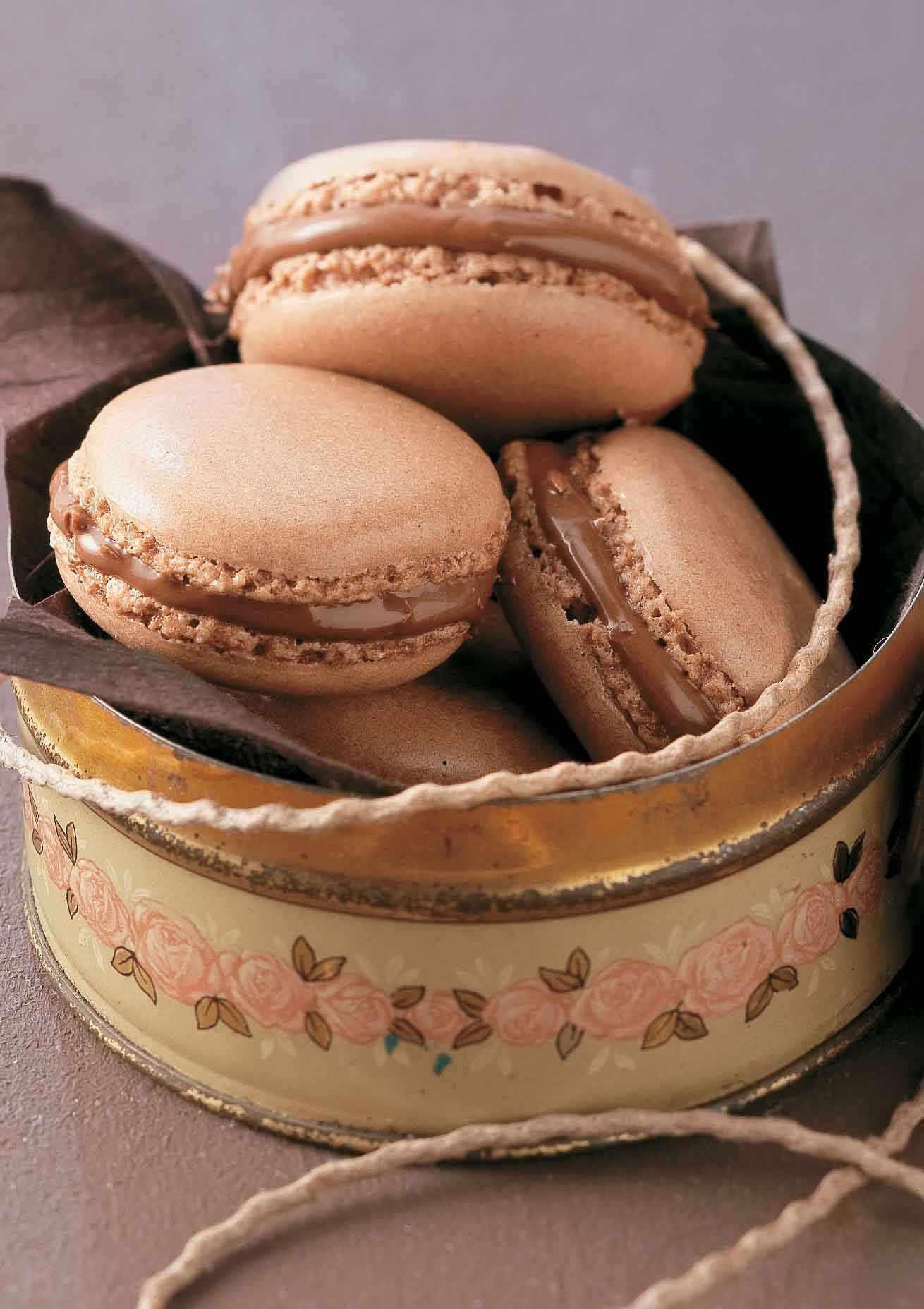 Nutella Chocolate Macaroons Recipe