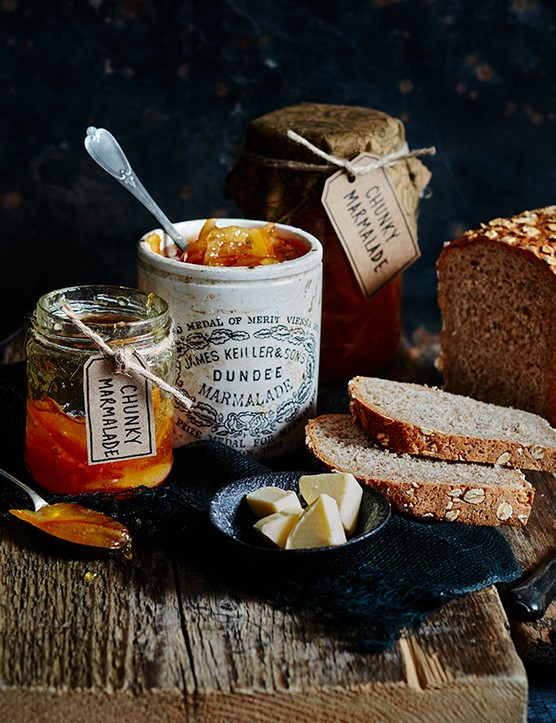 Marmalade with whisky