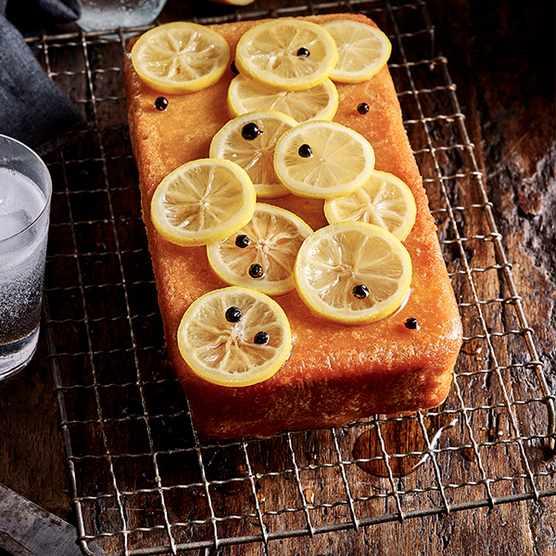 Gin and Tonic Cake Recipe With Lemon