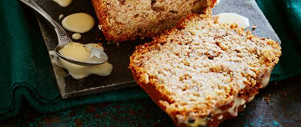 Banana Loaf Recipe With Passion Fruit