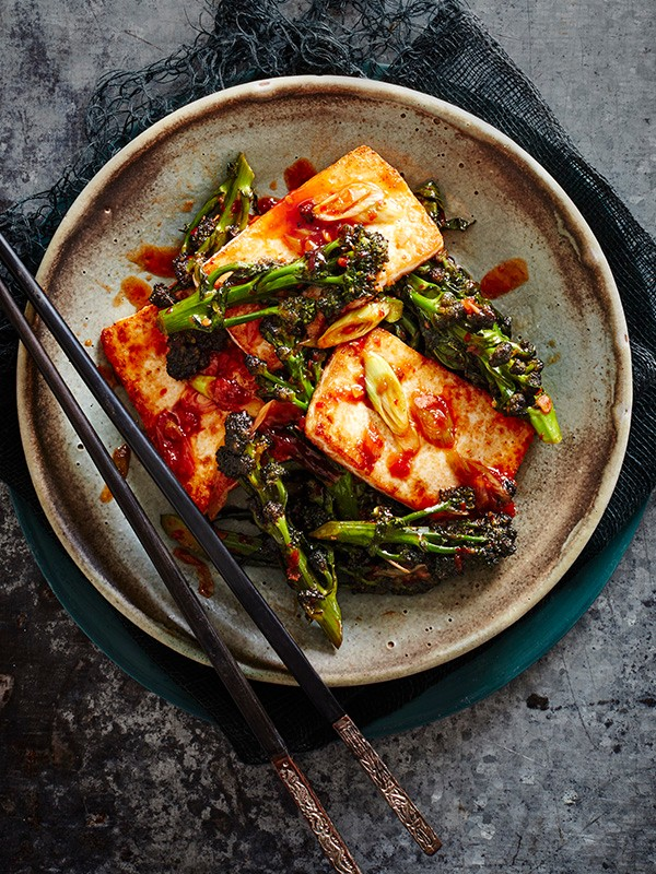 Chinese Tofu Recipe with Broccoli