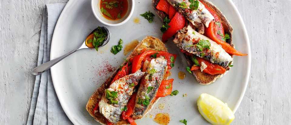 Easy sardine recipes