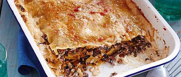 Vegetarian Lasagne Recipe With Posh Porcini Mushrooms
