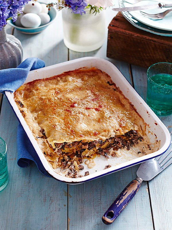 Vegetarian Lasagne Recipe With Posh Porcini Mushrooms
