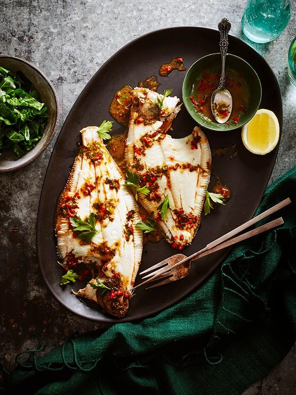 Dab Fish Recipe With Vinegar Butter