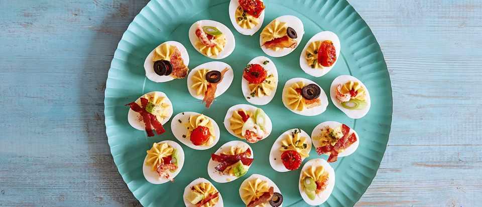 Devilled Easter eggs