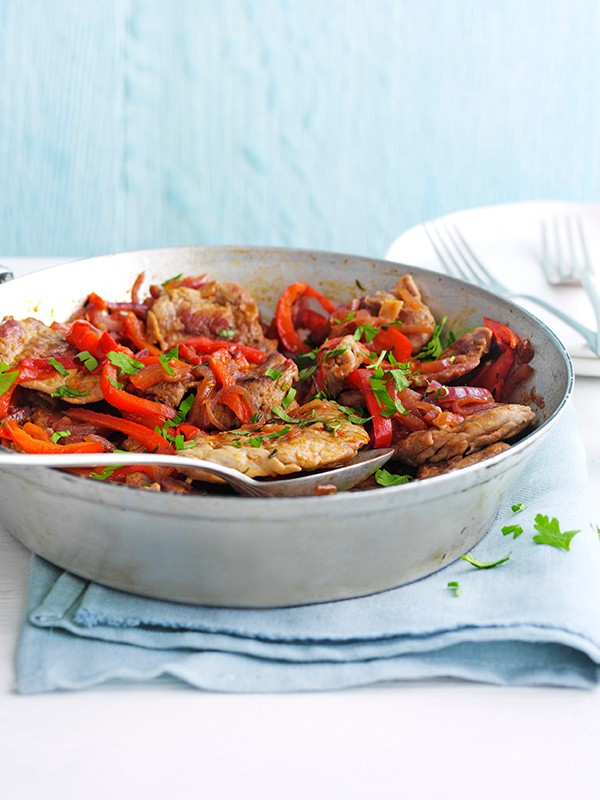 Pork Stew Recipe with Peppers