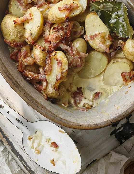 Jersey Royal Potato Gratin Recipe
