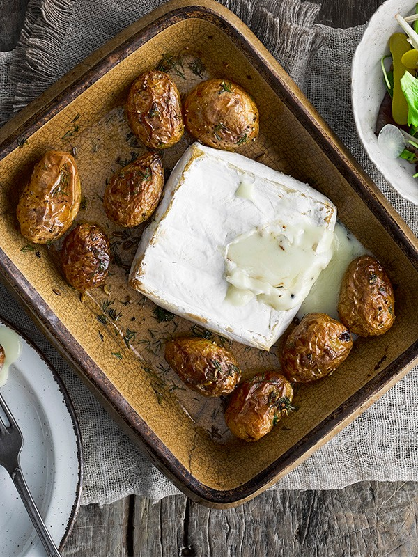 Baked Jersey Royals Recipe With Brie