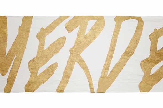 Gold Merde cloth