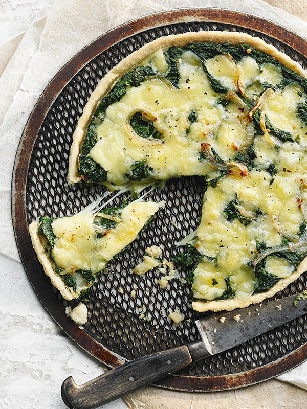 Spinach Tart Recipe With Fontina