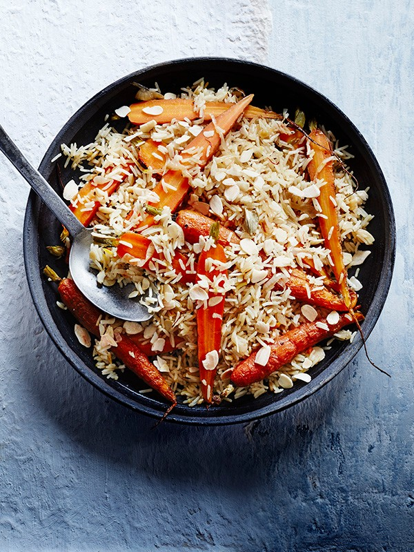 Carrot Rice Recipe with Cardamom