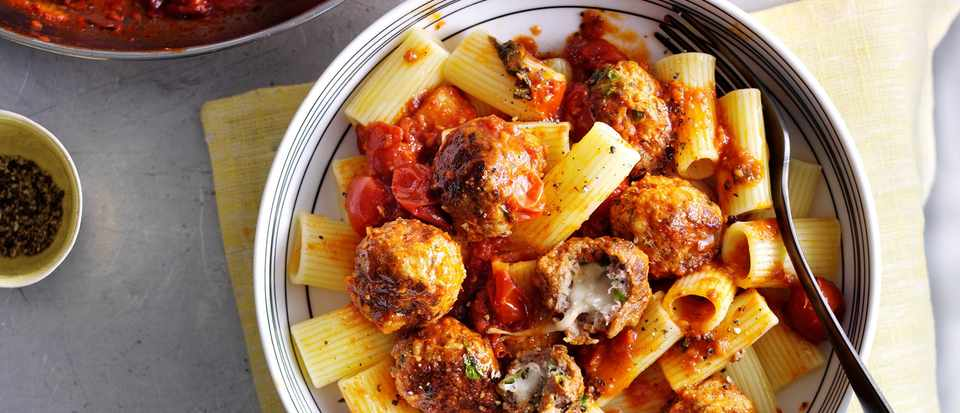 Melting-Middle Meatballs Recipe