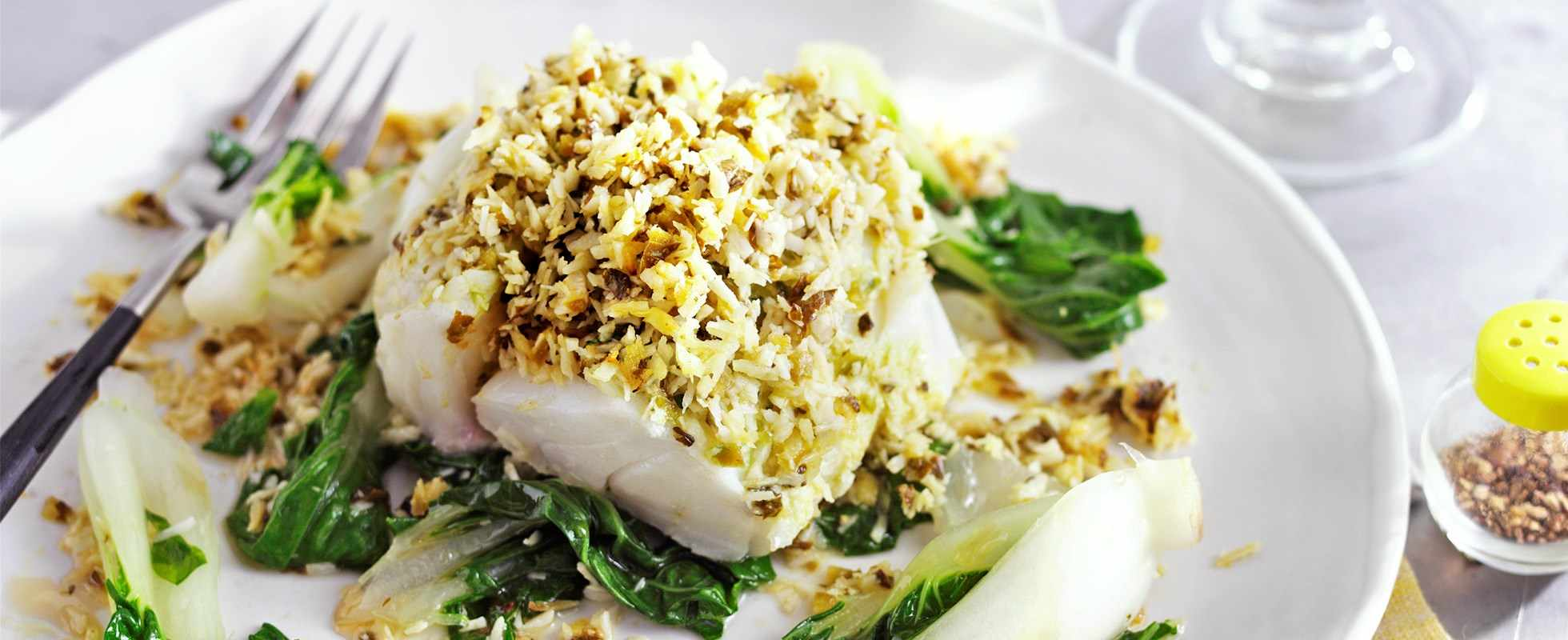 Fish Parcels Recipe with Coconut and Ginger